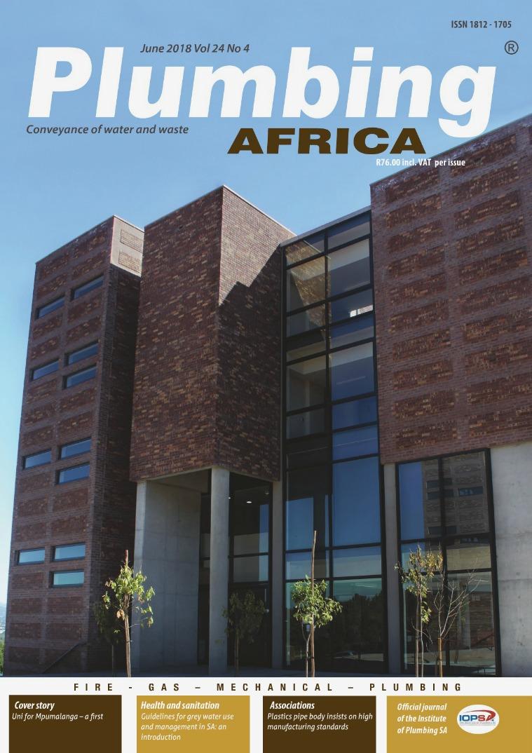 Plumbing Africa June 2018