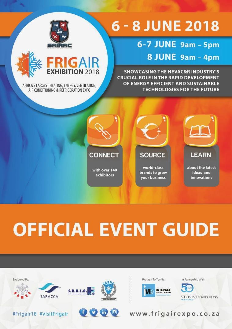 FRIGAIR 2018 Catalogue FRIGAIR 2018 Catalogue