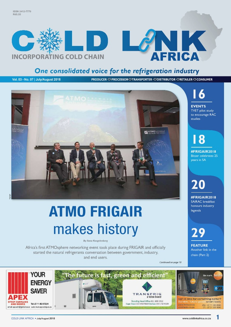 Cold Link Africa July/August 2018