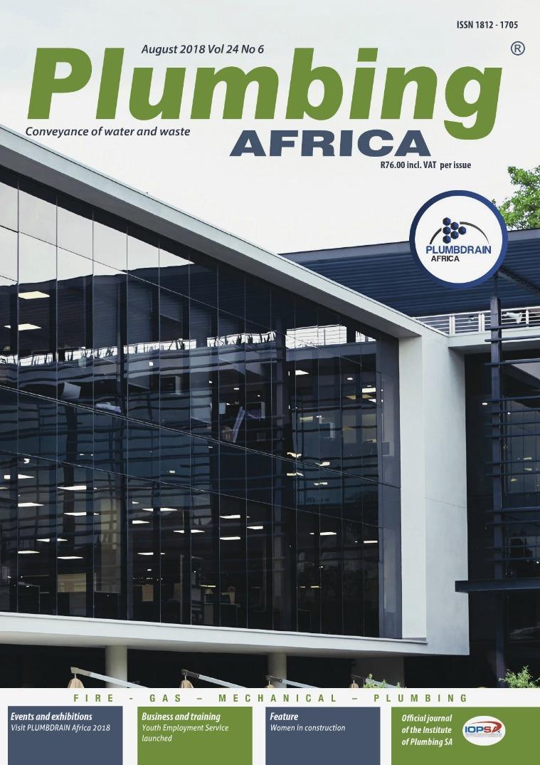 Plumbing Africa August 2018