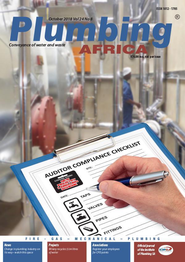 Plumbing Africa PA October 2018