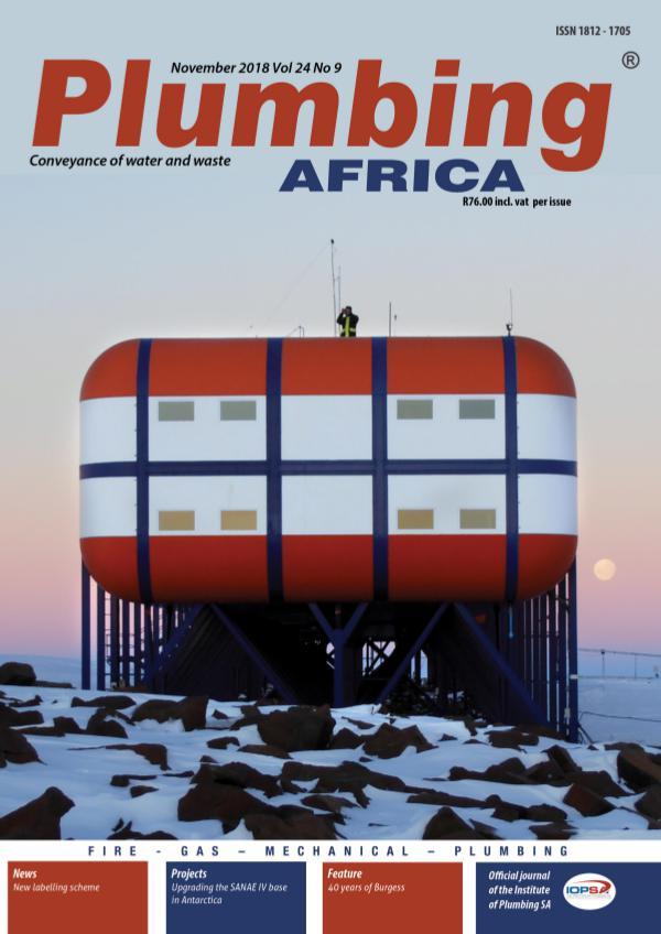 Plumbing Africa November 2018