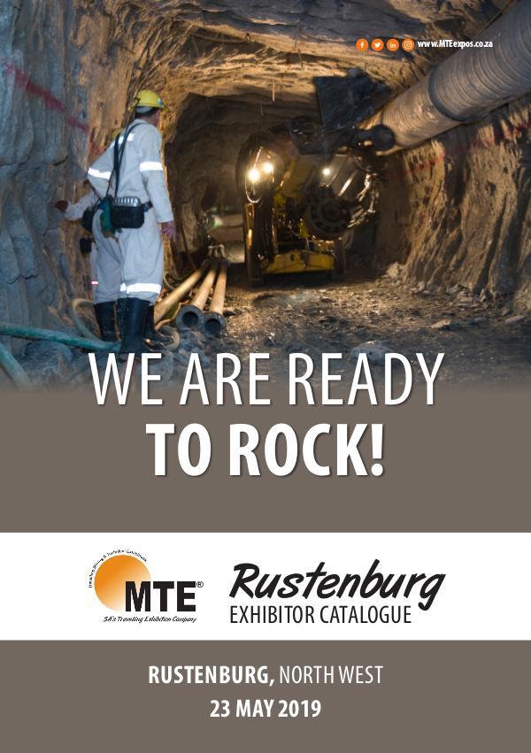 MTE Catalogues MTE Rustenburg 2019