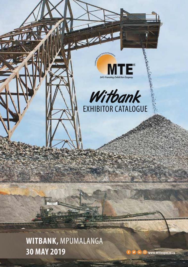 MTE Catalogues MTE Witbank 2019
