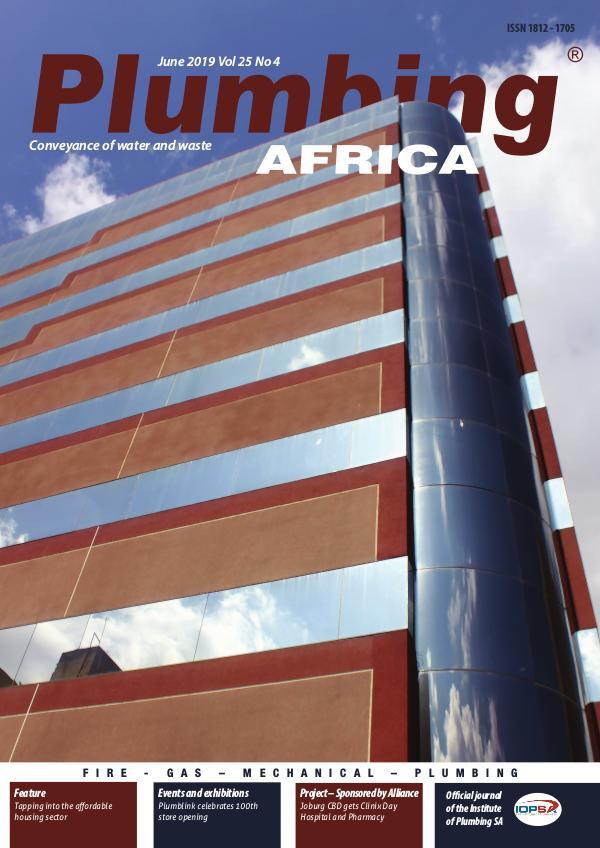 Plumbing Africa June 2019