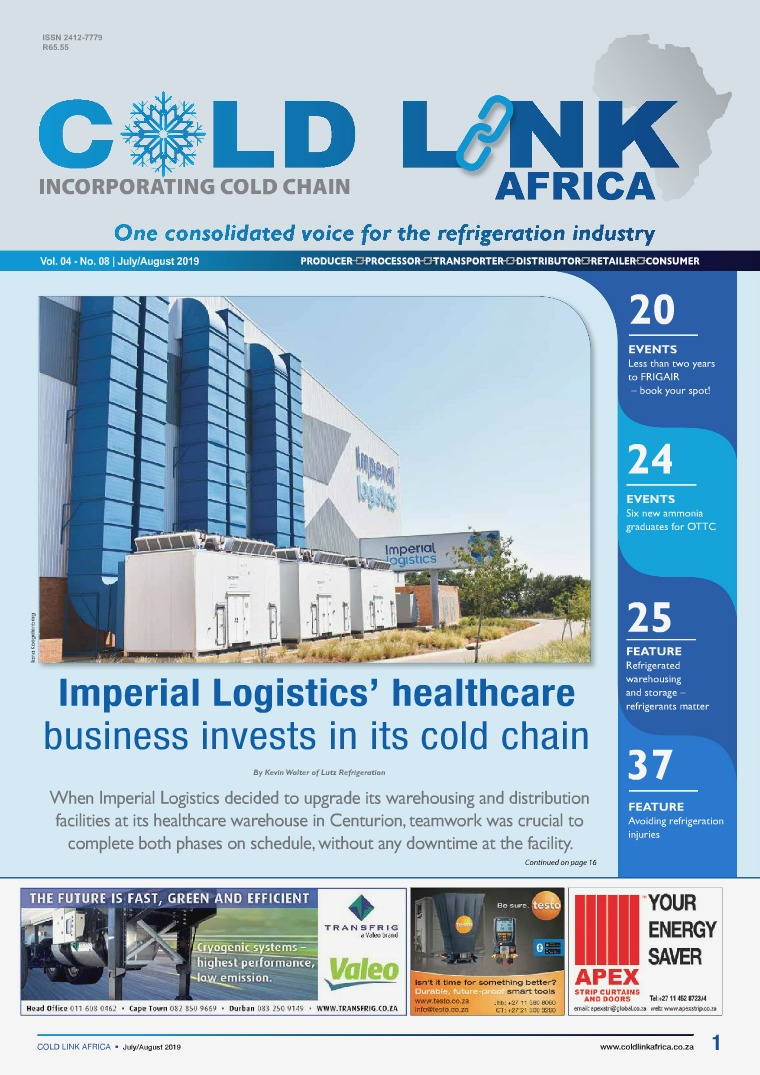 Cold Link Africa July/August 2019