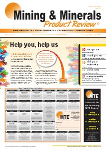 Mining & Minerals Product Review Jan/Feb 2014 Vol 6 No 6