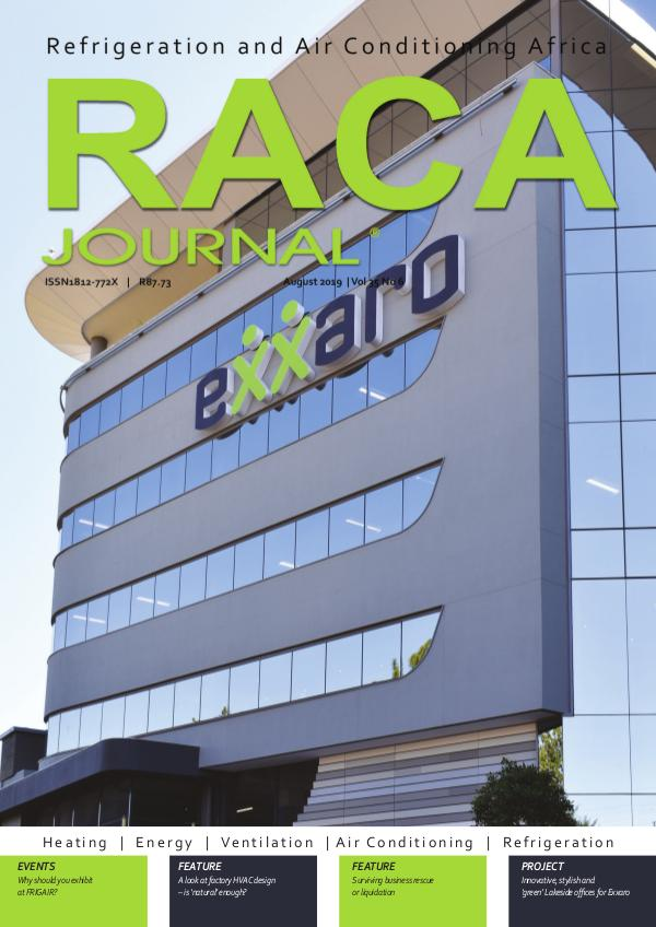RACA Journal August 2019