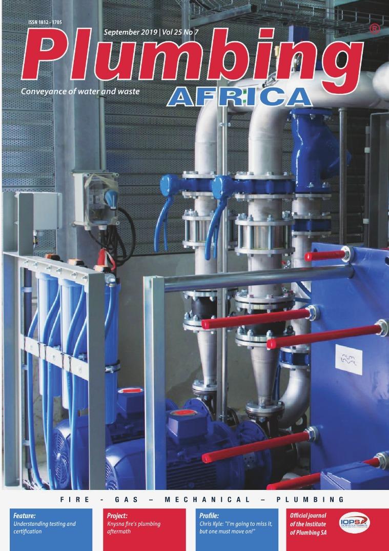 Plumbing Africa September 2019