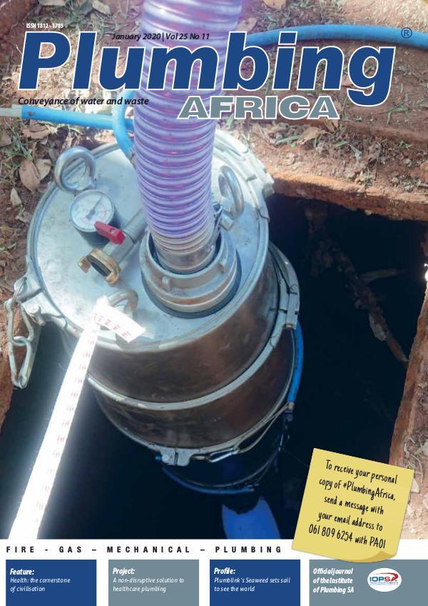 Plumbing Africa January 2020