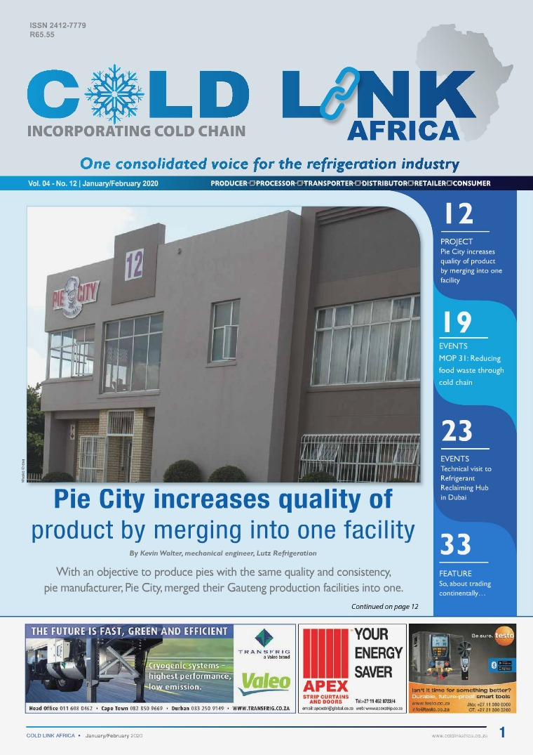 Cold Link Africa January / February 2020