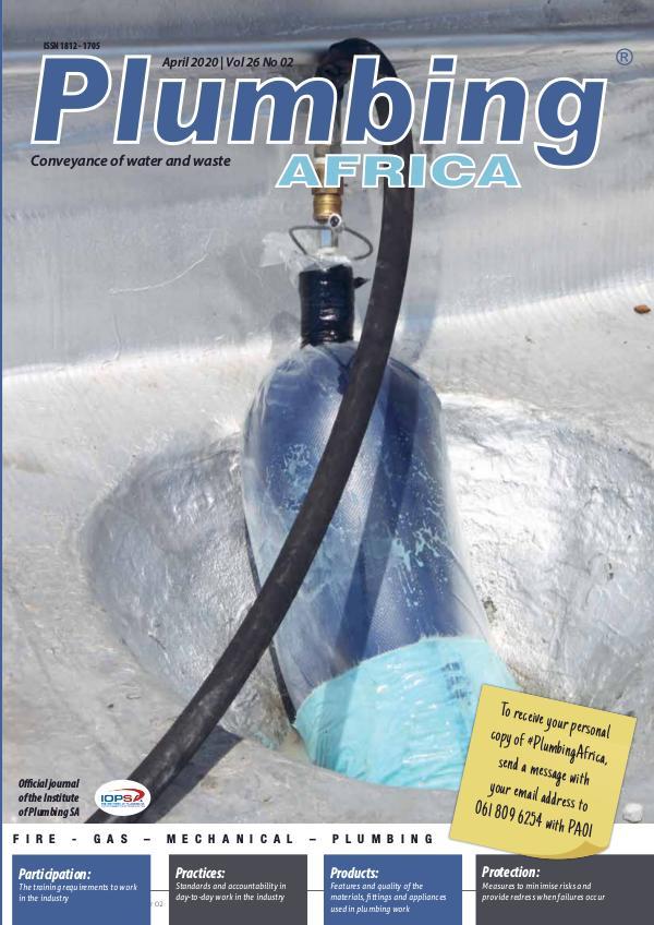 Plumbing Africa April 2020