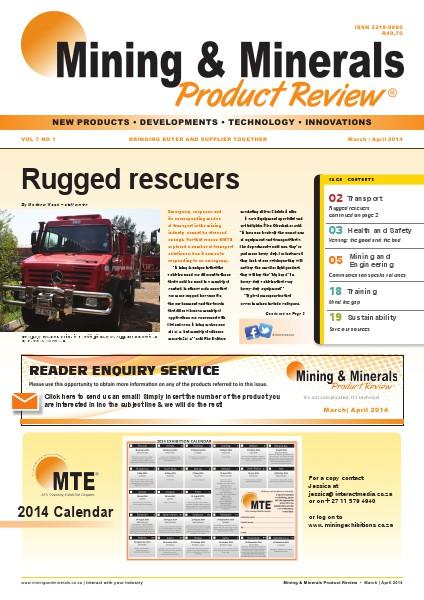 Mining & Minerals Product Review March/April 2014 Vol.7 No.1