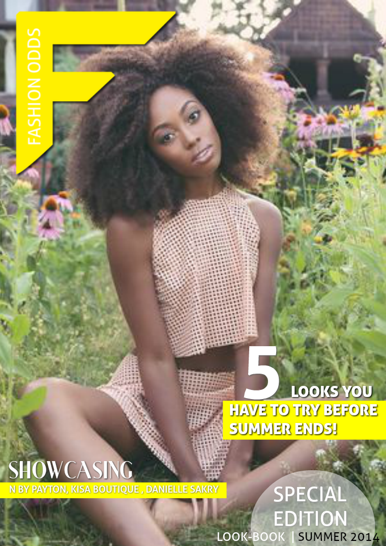 LOOK BOOKS  BY Fashion Odds 5 Looks To Try Before Summer Ends!