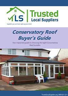 Conservatory Roof Buyers Guide