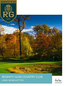 Regents' Glen Monthly Newsletter