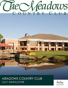 The Meadows Country Club Monthly Newsletter