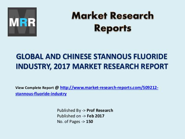Silica Industry 2022 Global Forecasts with a Focus on Chinese Market Stannous Fluoride Market 2012-2022 Analysis, Trend