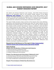 Mefenamic Acid Market Trends and 2022 Forecasts for Manufacturers