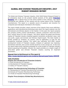 Global Triazolam Industry Analyzed in New Market Report