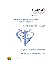 Mi primera revista de Desarrollo Humano