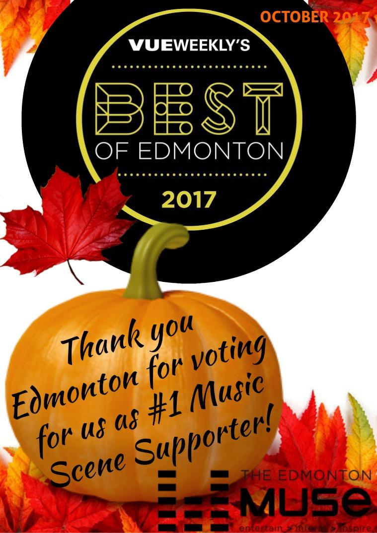 The Edmonton Muse October 2017
