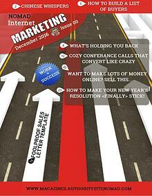 Nomad Internet Marketing December 2016 Issue 00