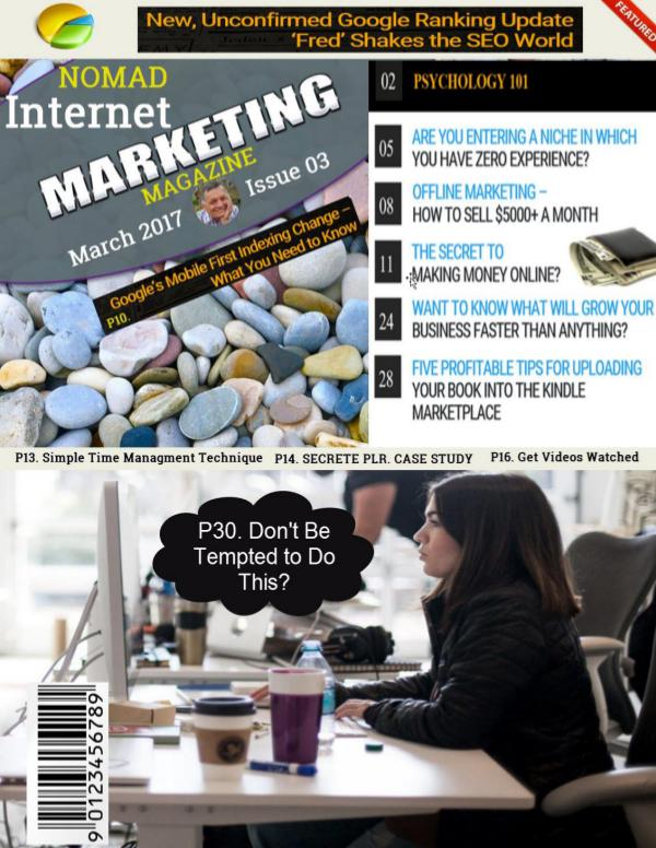 Nomad Internet Marketing March 2017 Issue 03