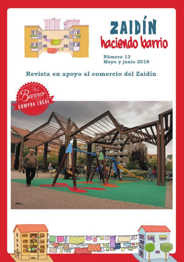 Zaidín Haciendo Barrio Revista n13 mayo junio 2018