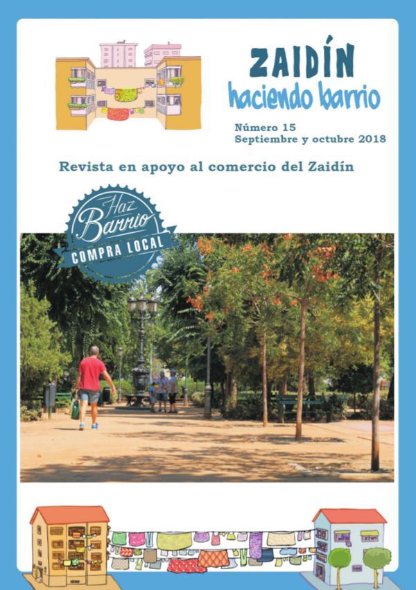 Zaidín Haciendo Barrio Revista 15 septiembre octubre 2018