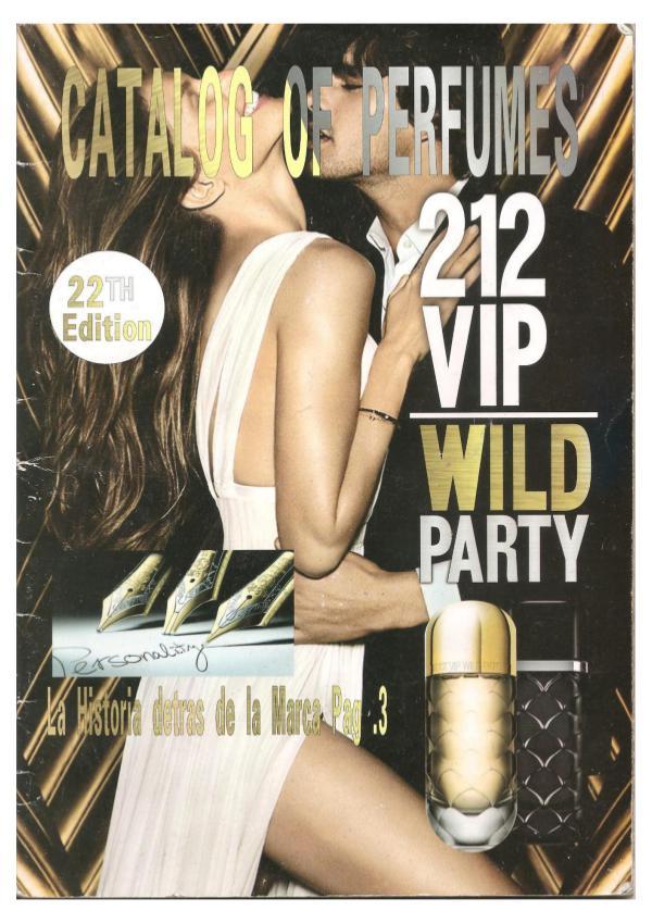 Catálogo Tu Perfume Edición N° 22. V. 1