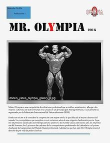 MR OLYMPIA ZAFRA
