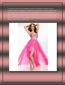 All kinds of occasion dresses