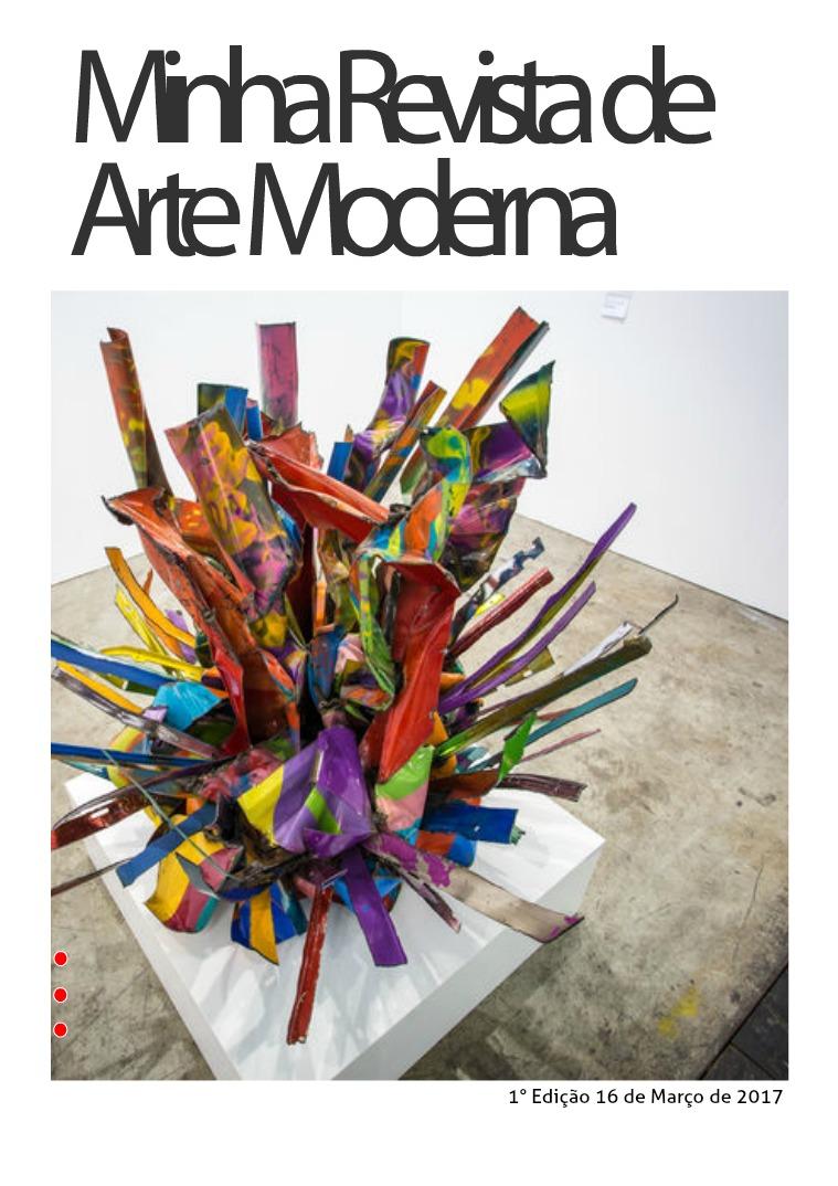 Minha revista de Arte Moderna Março de 2017