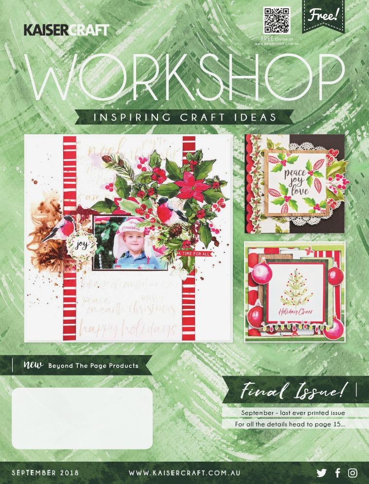 Kaisercraft September 2018 Workshop Magazine Workshop_SEP_2018_HighRes