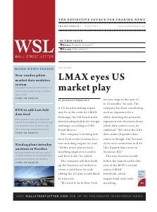 Wall Street Letter Volume XLV Issue 22