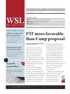 Wall Street Letter Volume XLV Issue 15