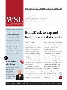 Wall Street Letter Volume XLV Issue 13