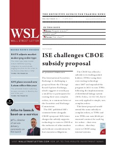 Wall Street Letter Volume XLV Issue 12