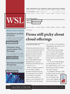 Wall Street Letter VOL. XLV, NO. 30 - Sept. 23, 2013