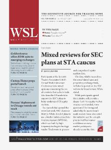 Wall Street Letter VOL. XLV, NO. 32. - Oct. 7, 2013