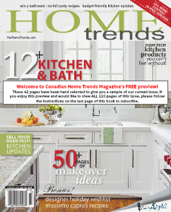 Canadian Home Trends PREVIEW - Kitchen & Bath/Holiday 2013
