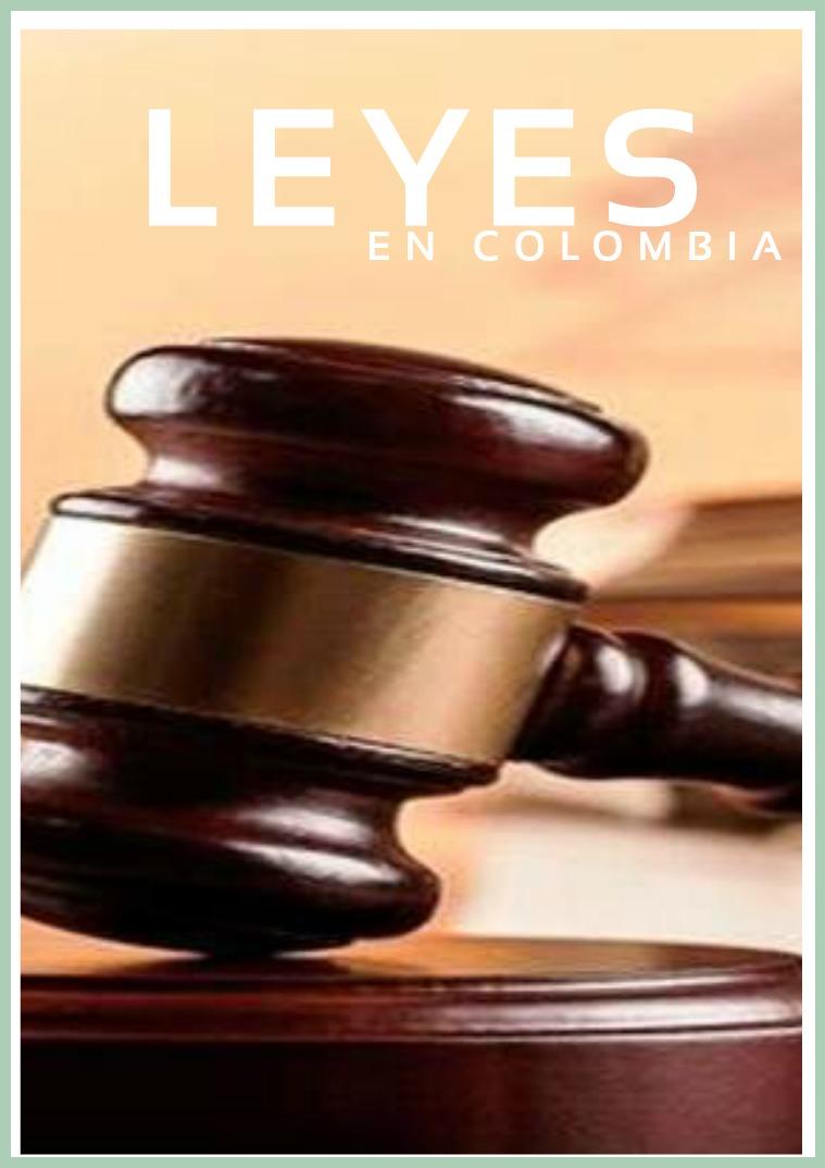 Leyes de Colombia ,.