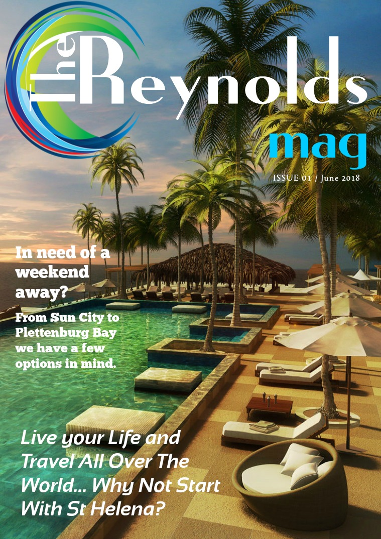 Reynolds Travel Centre Monthly E-mag Issue 01
