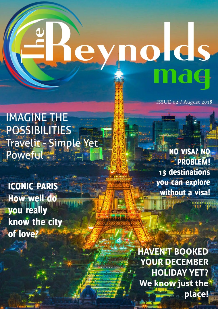 Reynolds Travel Centre Monthly E-mag Issue 02