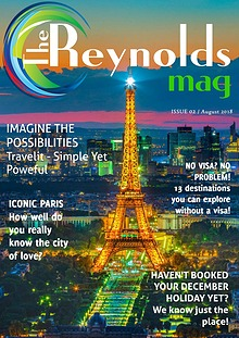 Reynolds Travel Centre Monthly E-mag