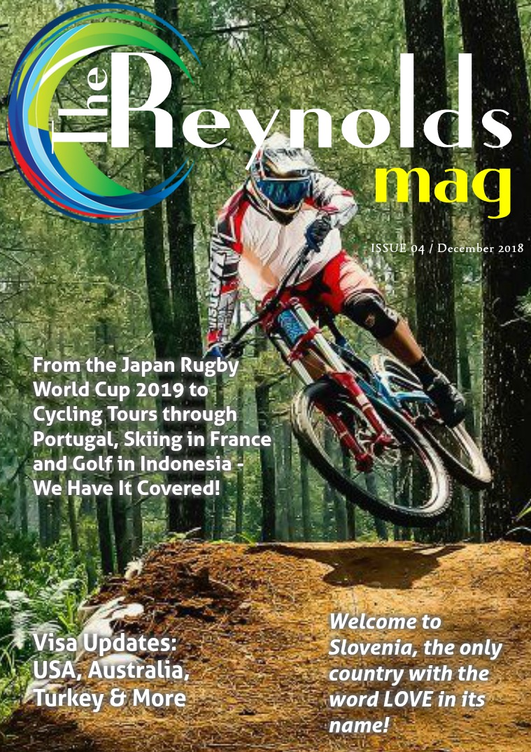 Reynolds Travel Centre Monthly E-mag Issue 04