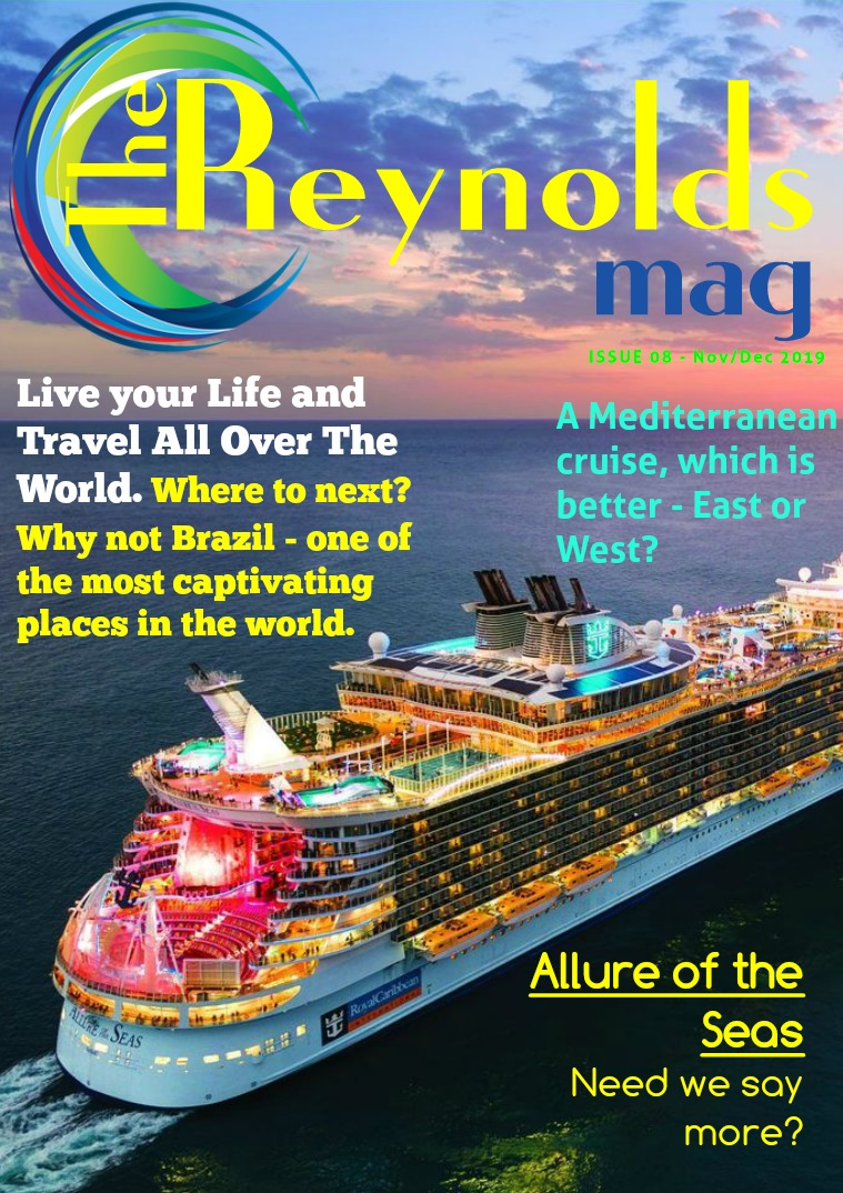 Reynolds Travel Centre Monthly E-mag Issue 08