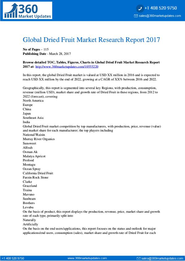 Global-Dried-Fruit-Market-Research-Report-2017