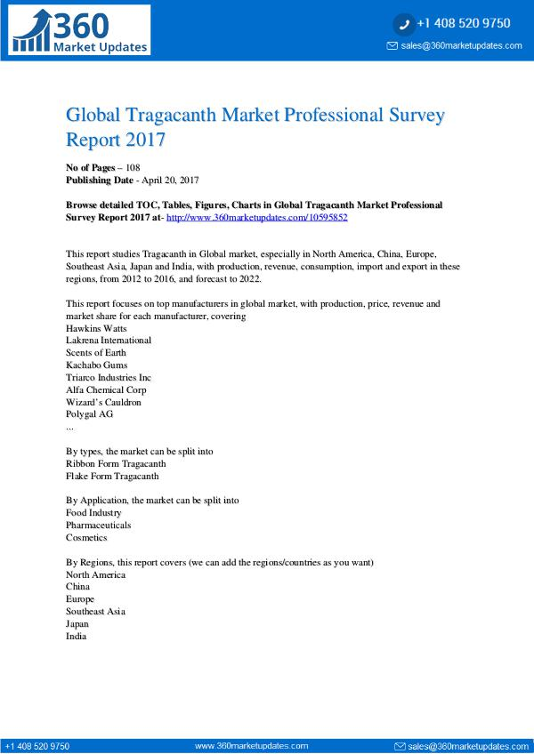 Global-Tragacanth-Market-Professional-Survey-Repor